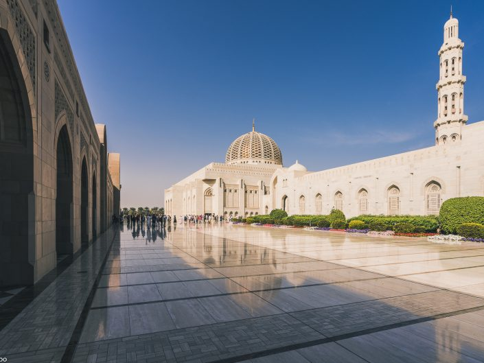 arab, arabia, arabian, arabic, architecture, blue, building, culture, east, gulf, islam, islamic, landscape, marble, minaret, monument, mosque, muscat, muslim, oman, persian, prayer, religion, sultan, sultanate, tourism, travel