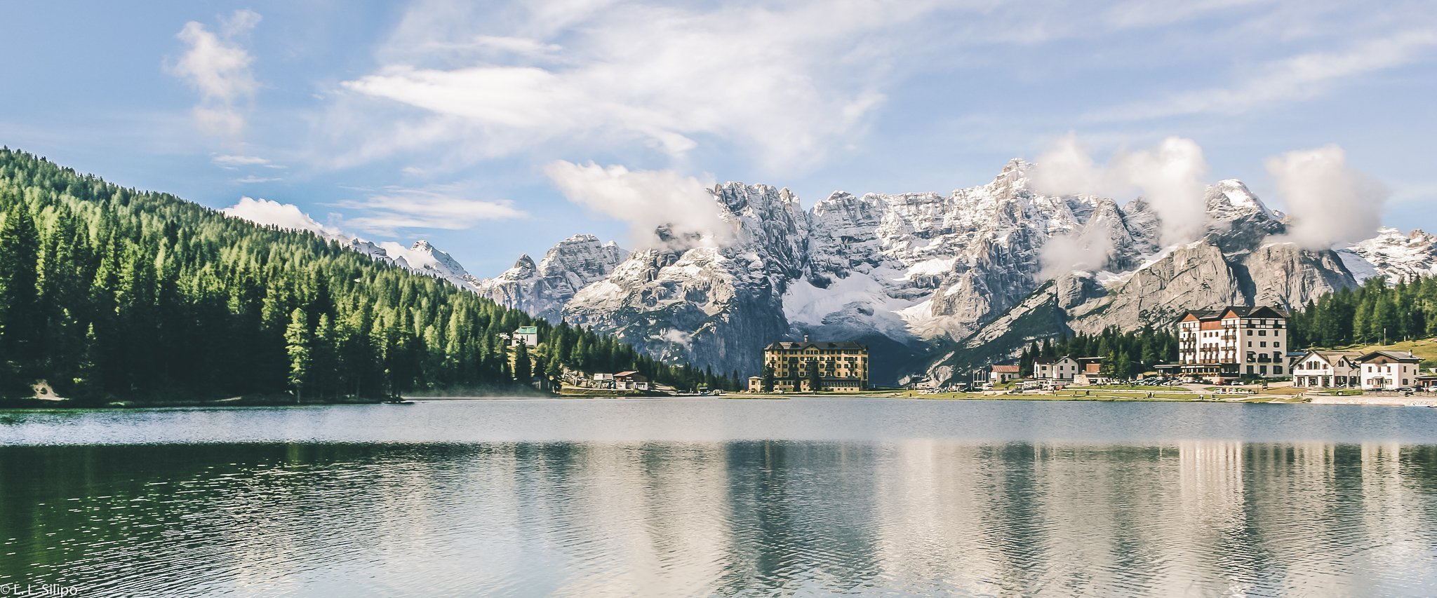 Dolomites, Misurina, adventure, alpine, alps, background, beautiful, cloud, cortina, dolomite, dolomiti, europe, house, italia, italian, italy, lake, landmark, landscape, misurina lake, mountain, mountains, nature, no person, outdoor, outdoors, panorama, panoramic, peak, reflection, scenery, scenic, sky, snow, summer, tourism, travel, tree, vacation, view, water, wood