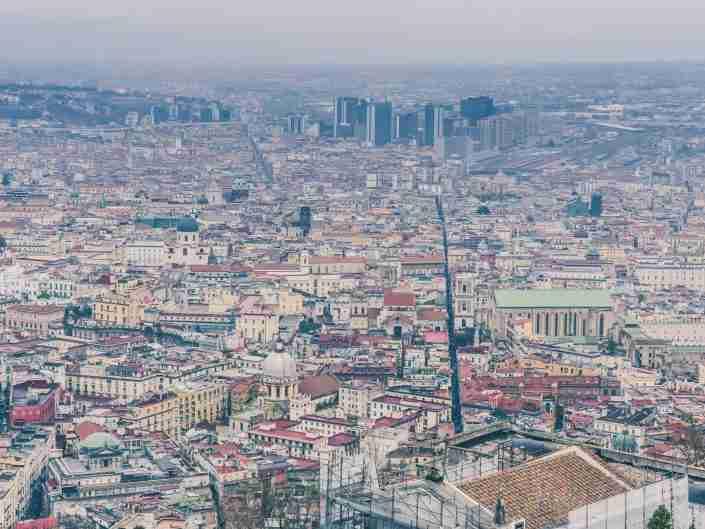 Napoli, Spaccanapoli, aerial, architecture, building, campania, city, cityscape, europe, european, famous, historic, historical, italian, italy, landmark, landscape, mediterranean, naples, naples italy, neapolitan, old, old town, overview, panorama, panoramic, piazza, quartieri, san martino, scenic, skyline, skyscraper, spagnoli, street, tourism, town, travel, urban, vesuvius, view, view from above, volcano