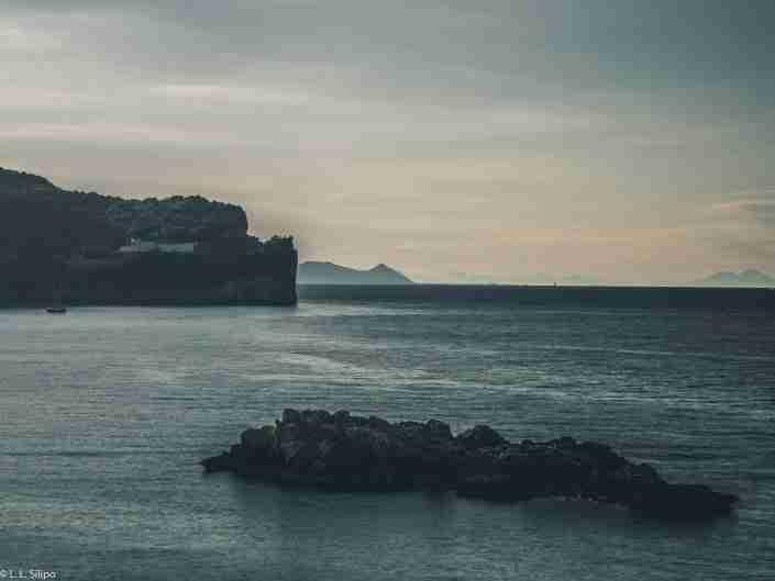 La Nave di Serapo, Gaeta, Early July morning